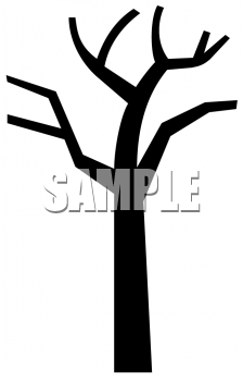 Tree in winter clipart silhouette svg free Bare Winter Tree Silhouette | Clipart Panda - Free Clipart ... svg free