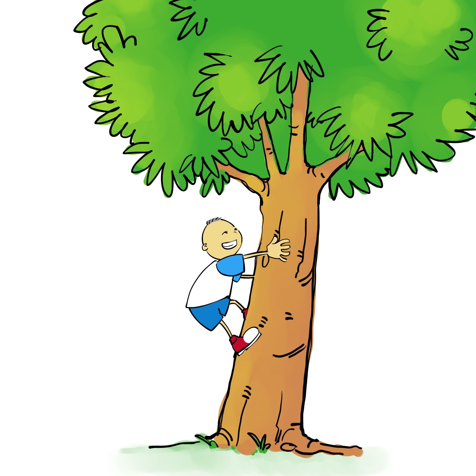 Tree its a boy clipart image black and white stock Pin by Erika Van Zyl on Do not climb tree | Climbing, Tree ... image black and white stock