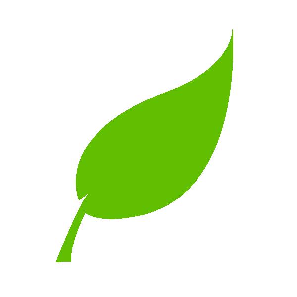 Tree leaf clipart clip art black and white download Leaf Clip Art at Clker.com - vector clip art online, royalty free ... clip art black and white download