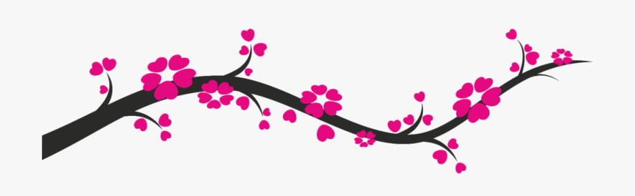 Tree limb with flowers clipart transparent background clip art royalty free stock Design Png Transparent Vector, Clipart, Psd - Tree Branch ... clip art royalty free stock