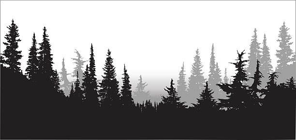 Tree line images clipart clipart freeuse stock Image result for mountain treeline clipart | Tattoo | Tree ... clipart freeuse stock