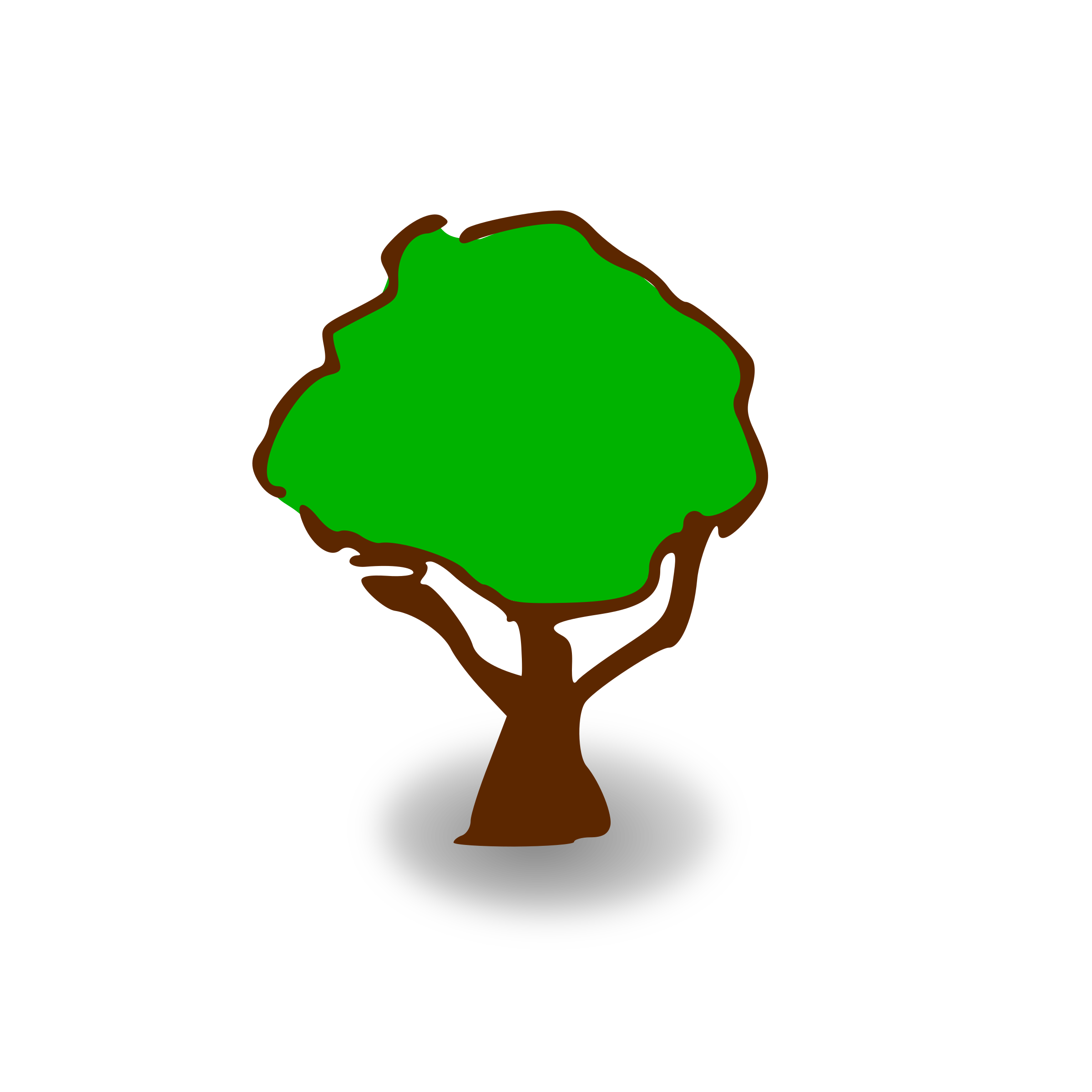 Tree map clipart graphic free download Clipart - RPG map symbols: tree graphic free download