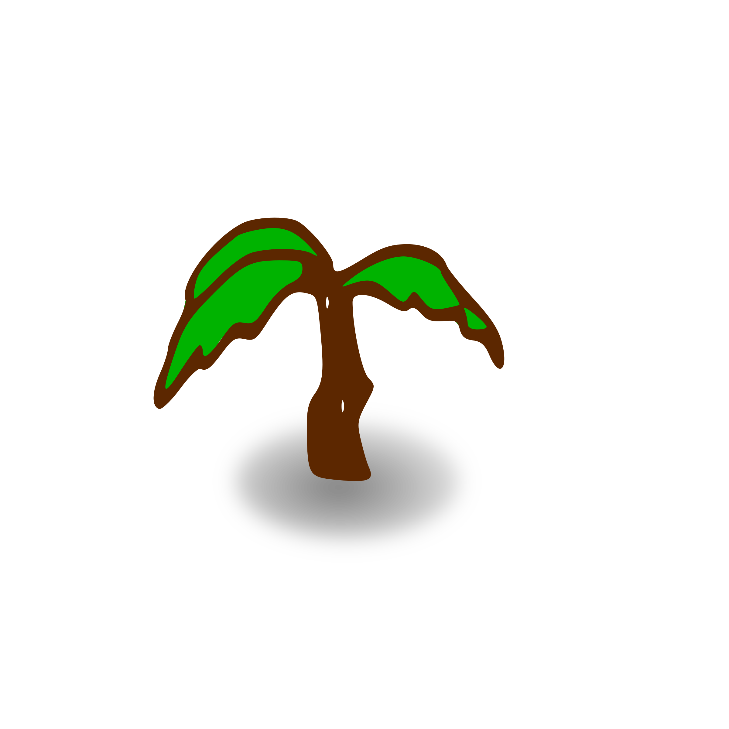 Tree map clipart picture stock Clipart - RPG map symbols: palm tree picture stock