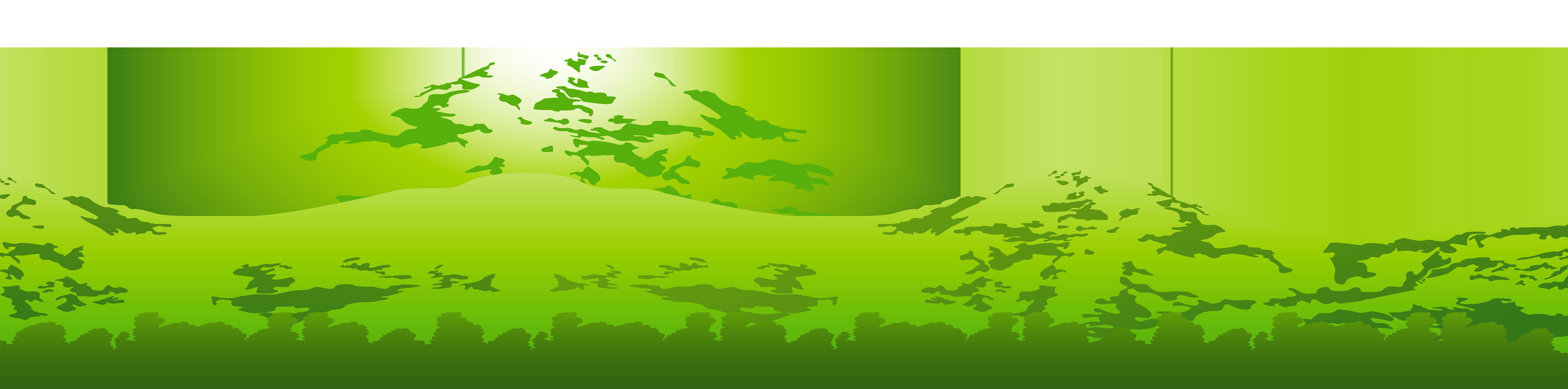 Tree mountain clipart clip transparent stock Green Mountain Transparent PNG Clip Art Image | Gallery ... clip transparent stock