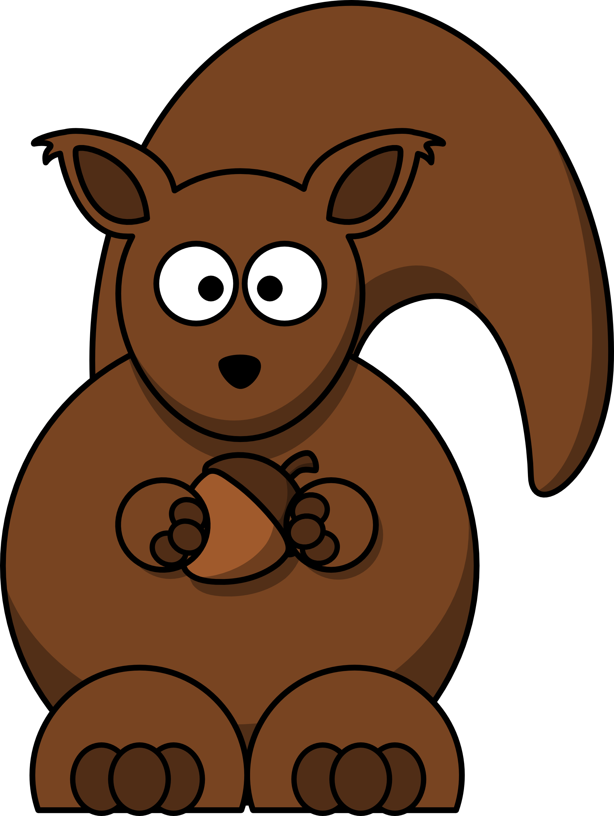 Squirrel Clip Art With Nuts | Clipart Panda - Free Clipart Images graphic free