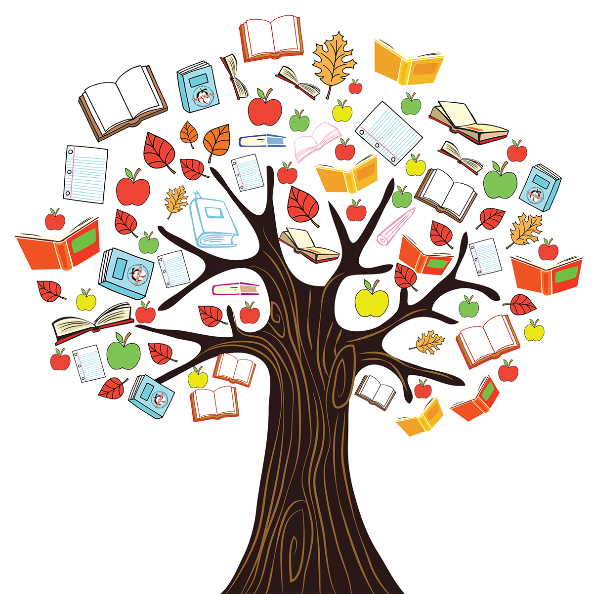 Tree of knowledge clipart free stock Our School - Jersey Tamil Academy free stock