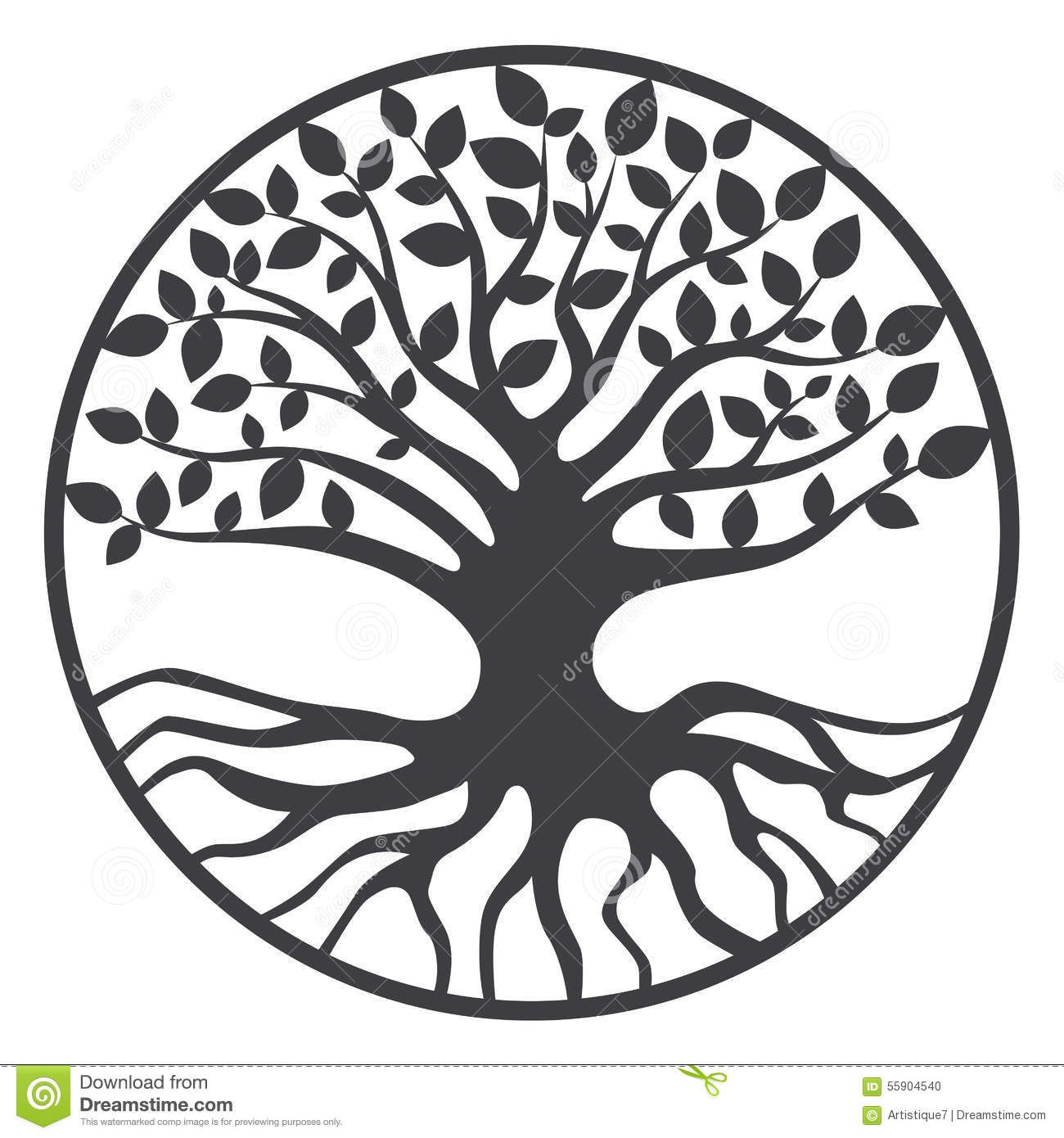 Tree of life silhouette clipart clipart Tree Of Life Royalty Free Stock Photography - Image ... clipart