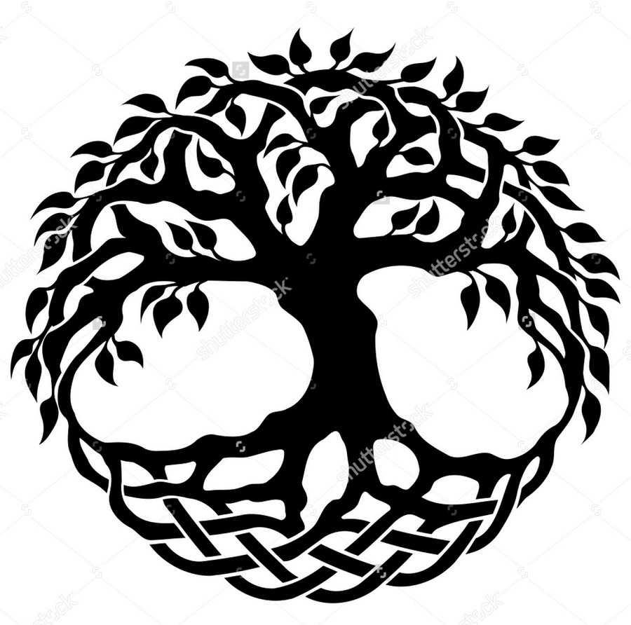 Tree of life silhouette clipart vector black and white library Download tree of life silhouette clipart Tree of life ... vector black and white library