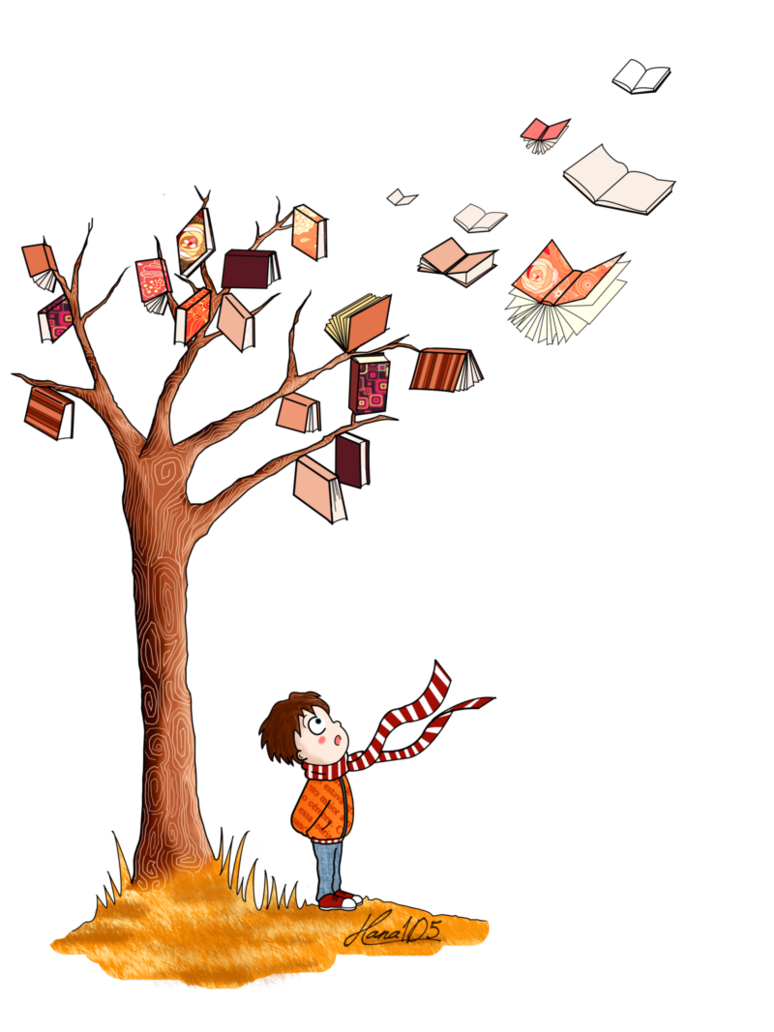 the_tree_of_books_by_hana | Book Trees | Pinterest | Hana and Books banner black and white download