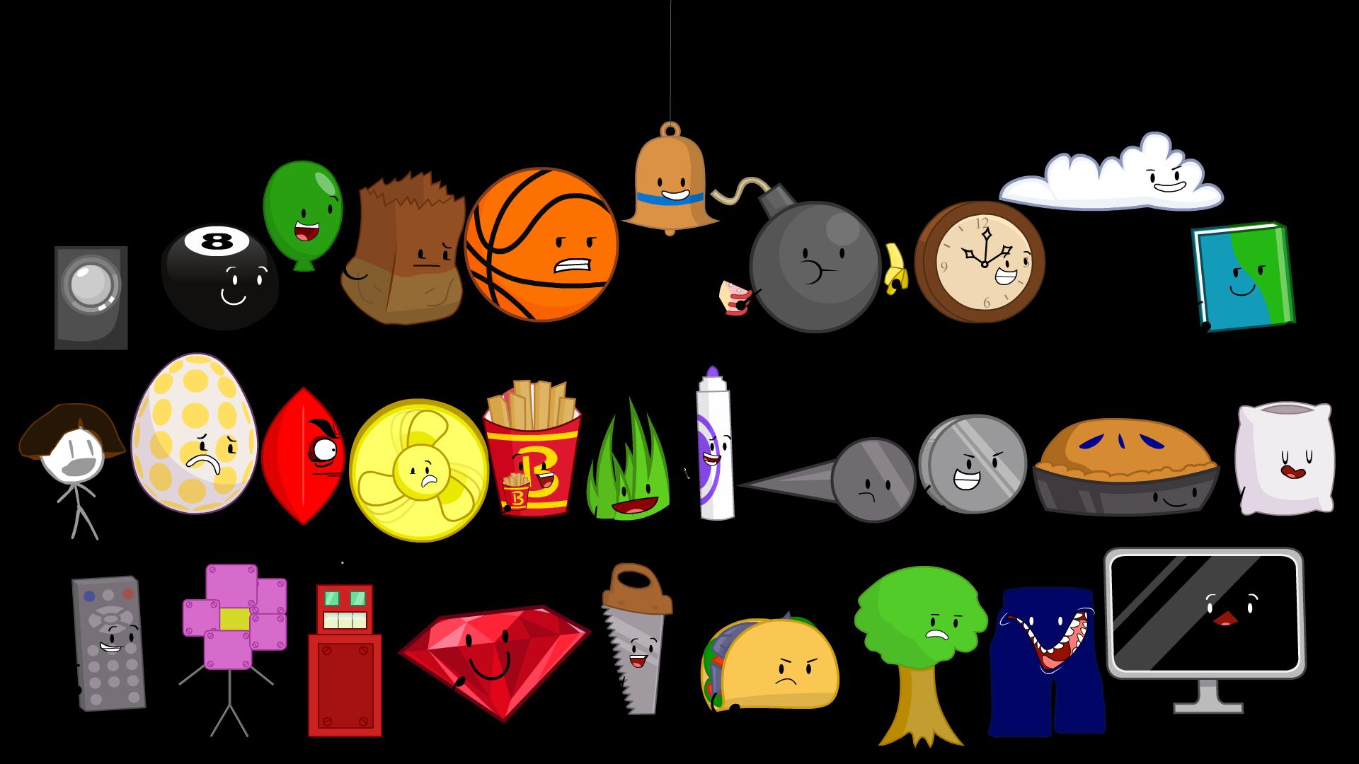 User blog:Souleaternom/BFSP Remake Redesigns | Object Shows ... vector transparent
