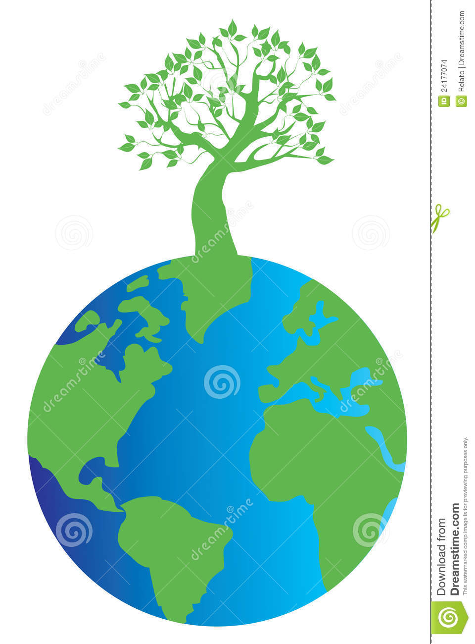 Tree on earth images clipart svg royalty free Earth and tree | Clipart Panda - Free Clipart Images svg royalty free