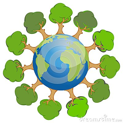 Tree on earth images clipart image transparent earth-trees-planet-variable- ... | Clipart Panda - Free ... image transparent