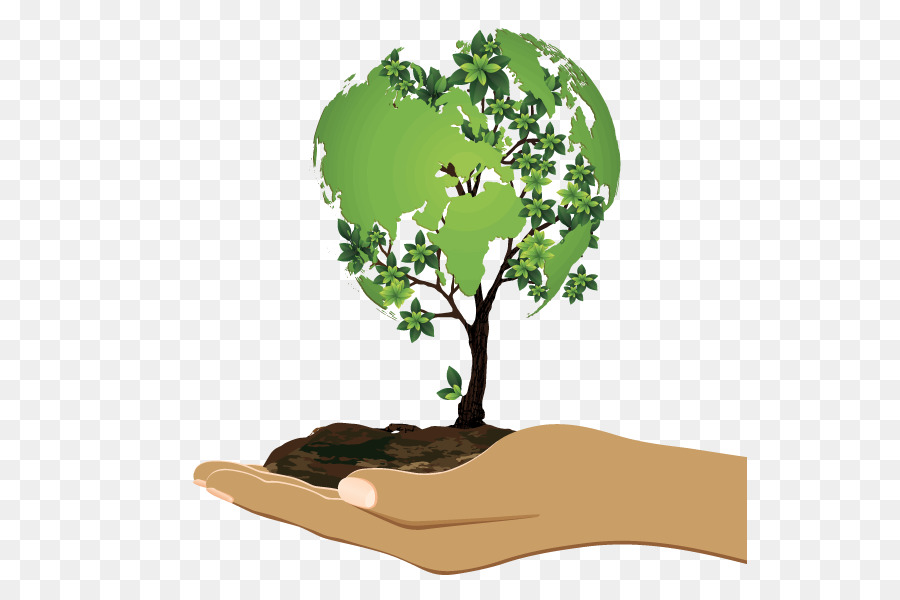 Tree on earth images clipart image International Mother Earth Day clipart - Tree, Grass ... image