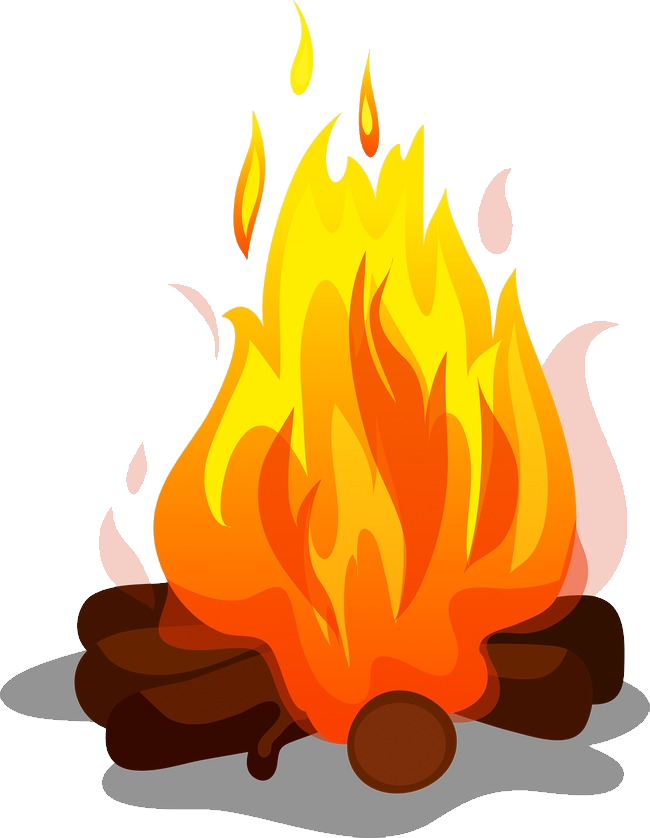 Tree on fire clipart vector transparent download Bonfire PNG Image - PurePNG | Free transparent CC0 PNG Image Library vector transparent download