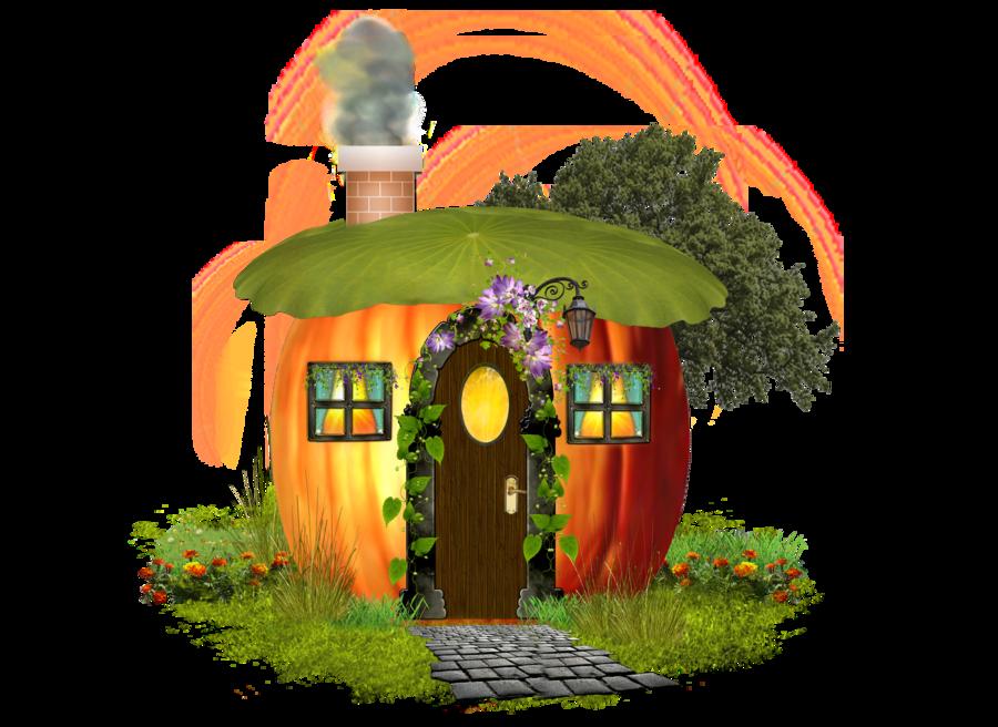 PUMPKIN HOUSE by Moonglowlilly on DeviantArt clip art