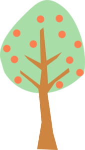 Peach Tree Clip Art at Clker.com - vector clip art online ... clip art royalty free stock