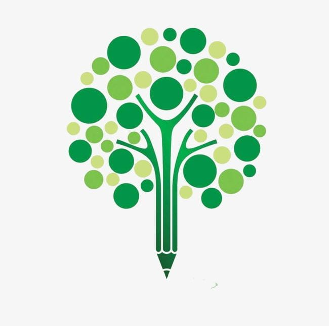 Tree pencil clipart jpg freeuse stock Pencil Shaped Tree Trunk Trees PNG, Clipart, Dot, Dot Trees ... jpg freeuse stock