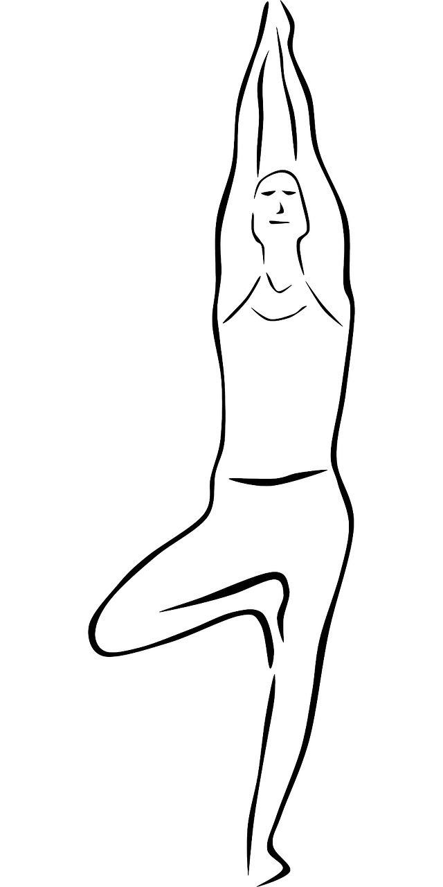 Yoga tree pose clipart jpg free stock Yoga for the Chakras | Jennifer Soldner jpg free stock