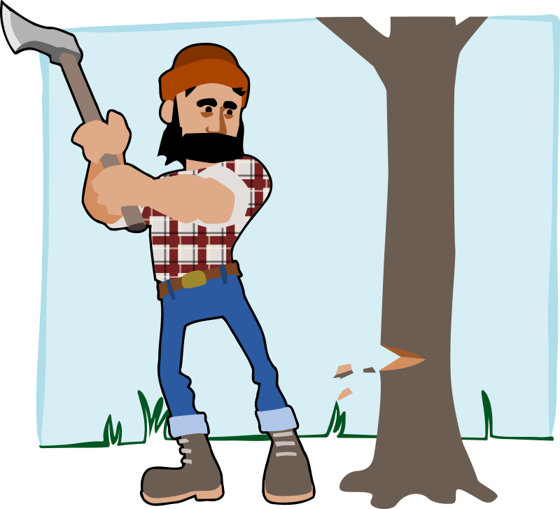 Tree service clipart svg free download bloomingdale: you need a permit to remove a tree whose circumference ... svg free download