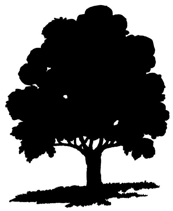 Tree silhouette clipart free jpg library download Free Free Tree Silhouette, Download Free Clip Art, Free Clip ... jpg library download