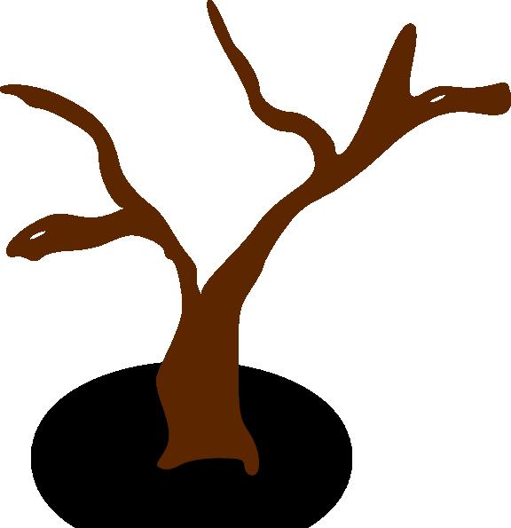 Tree sticks clipart png freeuse download Rpg Map Symbols Deserted Tree Clip Art at Clker.com - vector clip ... png freeuse download