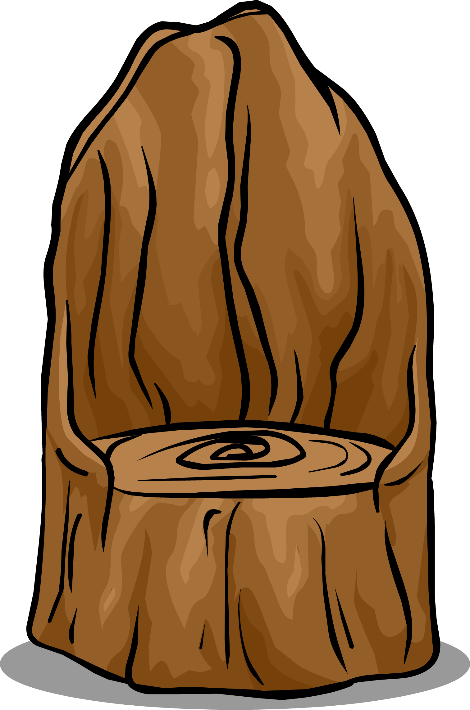 Tree stumps clipart jpg black and white library Tree Stump Chair | Club Penguin Wiki | FANDOM powered by Wikia jpg black and white library