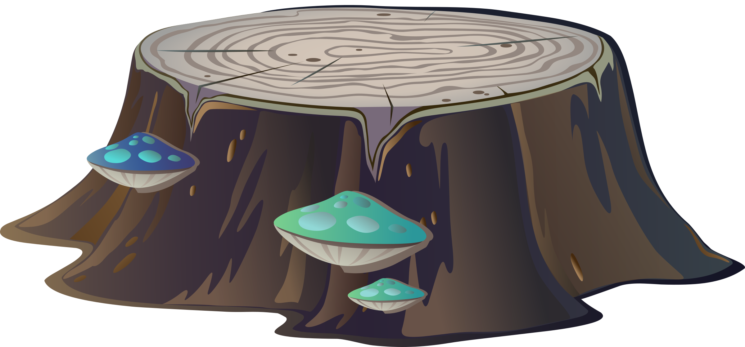 Tree stumps clipart clip free library Tree stump from Glitch Icons PNG - Free PNG and Icons Downloads clip free library