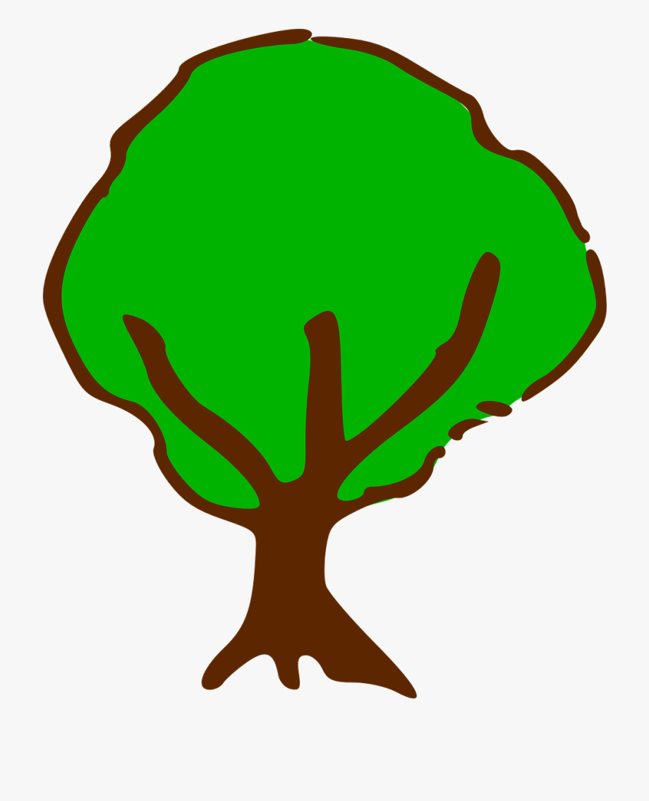 Tree Symbol For Maps Clipart , Png Download - Tree Cartoon ... graphic royalty free download