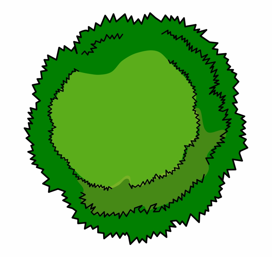 Tree top view clipart for photoshop clipart transparent library Bushes Clipart Tree Top - Cartoon Tree Top View Free PNG ... clipart transparent library