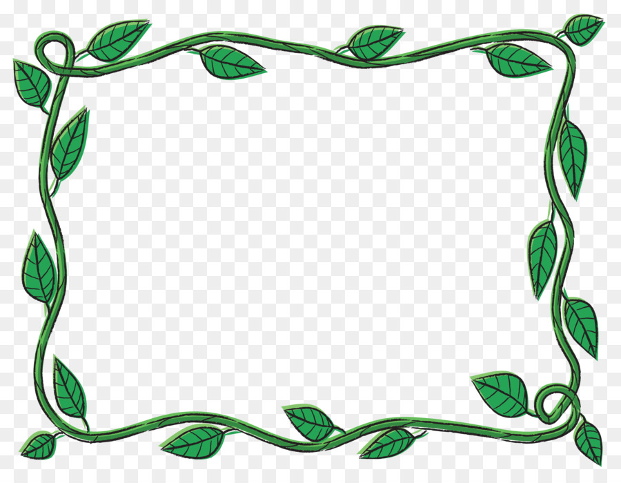 Tree vines clipart graphic royalty free Background Flower Frame png download - 3375*2625 - Free ... graphic royalty free