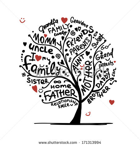 Tree with 8 hearts on it black and white clipart svg Family Tree Stock Images, Royalty-Free Images & Vectors | Shutterstock svg
