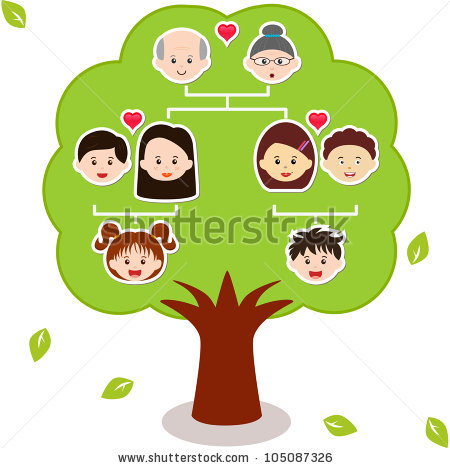 Tree with 8 hearts on it black and white clipart clip art transparent download Family Tree Stock Images, Royalty-Free Images & Vectors | Shutterstock clip art transparent download