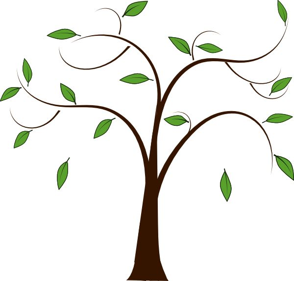 Tree with branch clipart svg freeuse download Tree trunk and branches clip art - ClipartFest svg freeuse download
