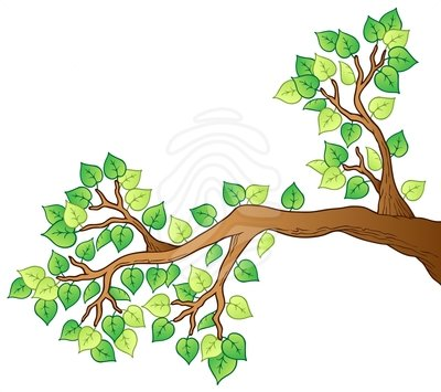 Tree with branch clipart jpg royalty free library Clipart Tree With Branches And Leaves | Clipart Panda - Free ... jpg royalty free library