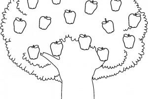 Tree with fruits clipart black and white svg black and white stock Tree with fruits clipart black and white 6 » Clipart Portal svg black and white stock