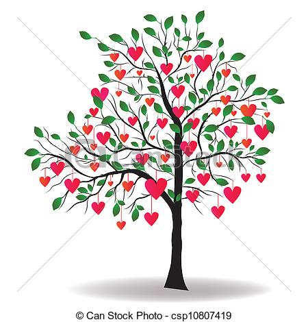 Tree with hearts clipart banner valentine hearts clip art - Google Search | wow jewelry ... banner