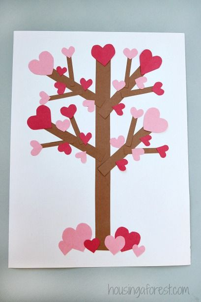 Tree with hearts clipart vector library library 17 Best ideas about Heart Tree on Pinterest | January crafts ... vector library library