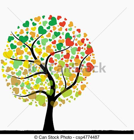 Tree with hearts clipart banner transparent Heart tree Clipart Vector Graphics. 11,361 Heart tree EPS clip art ... banner transparent