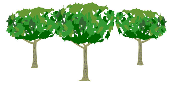 Tree with lawn clipart picture free stock Tree lawn care clipart - ClipartFest picture free stock