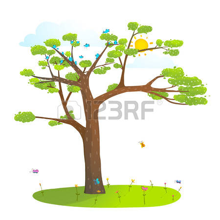 Tree with lawn clipart png royalty free 66,951 Tree Grass Stock Vector Illustration And Royalty Free Tree ... png royalty free