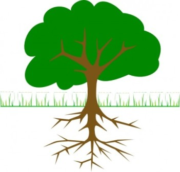 Tree with lawn clipart clip free download Tree and grass clipart - ClipartFox clip free download