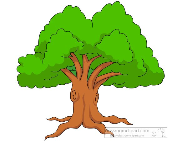 Tree with lawn clipart clip art freeuse Tree clipart - ClipartFox clip art freeuse