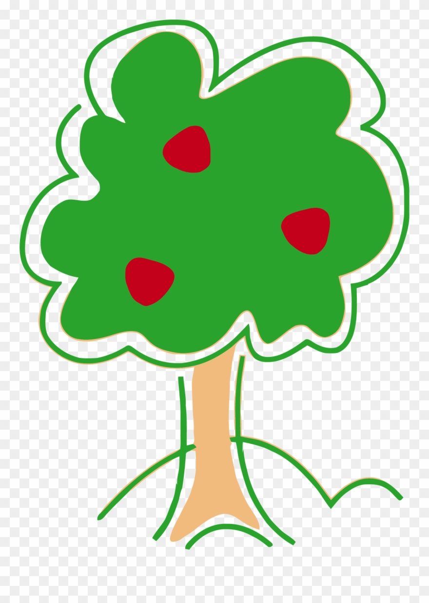 Tree with no apple clipart vector freeuse download Tree Clipart, Apples, Clip Art, Apple - Cute Apple Tree ... vector freeuse download