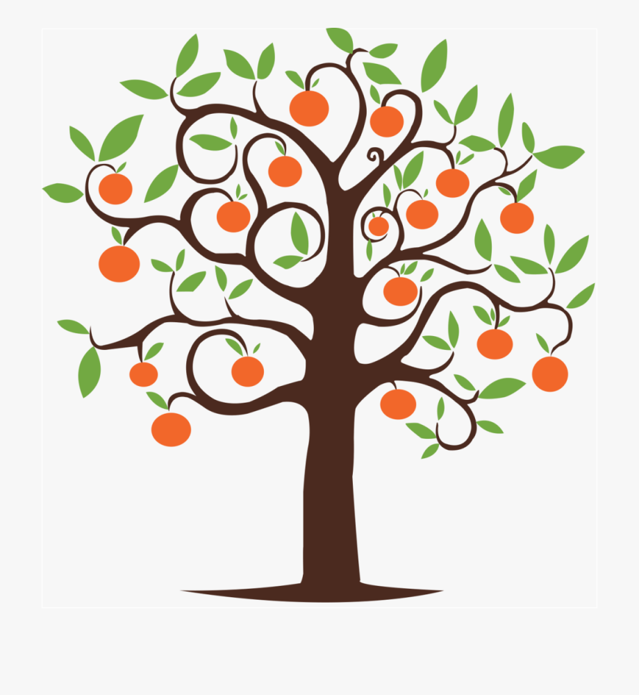 Drawings Of Peach Trees - Fall Apple Tree Clipart #992551 ... svg download