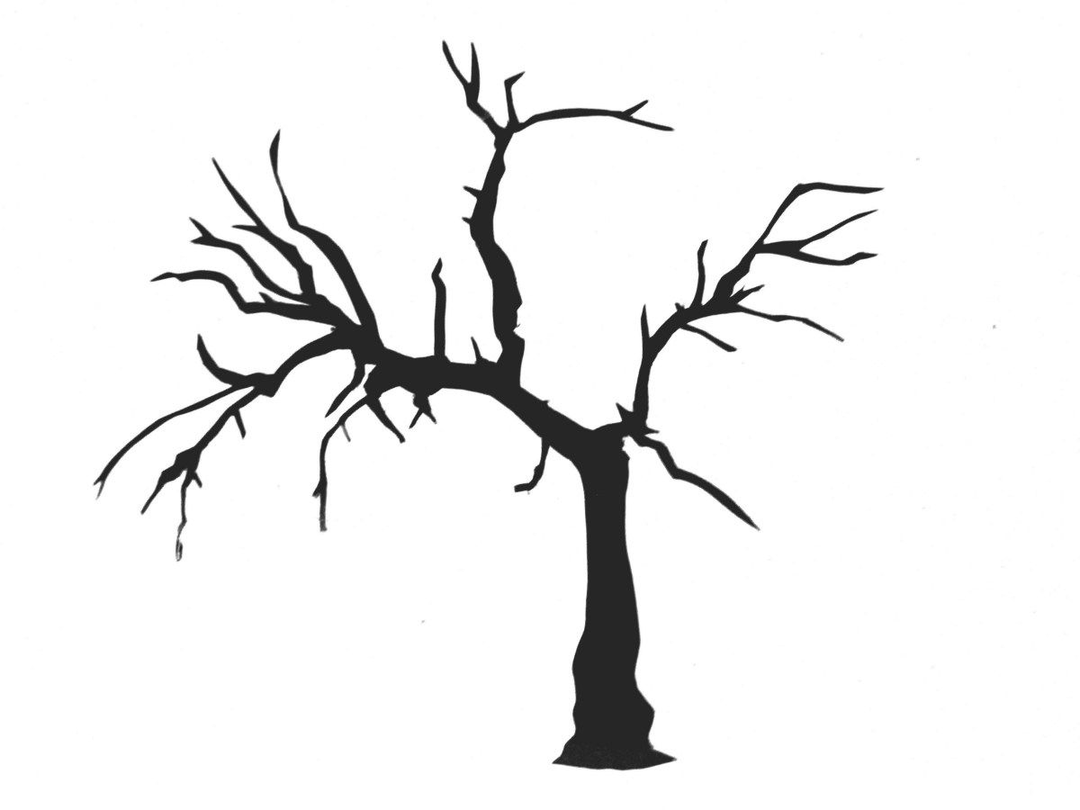 Tree with no leaves clipart black and white jpg royalty free library Tree clipart black and white no leaves 3 » Clipart Station jpg royalty free library