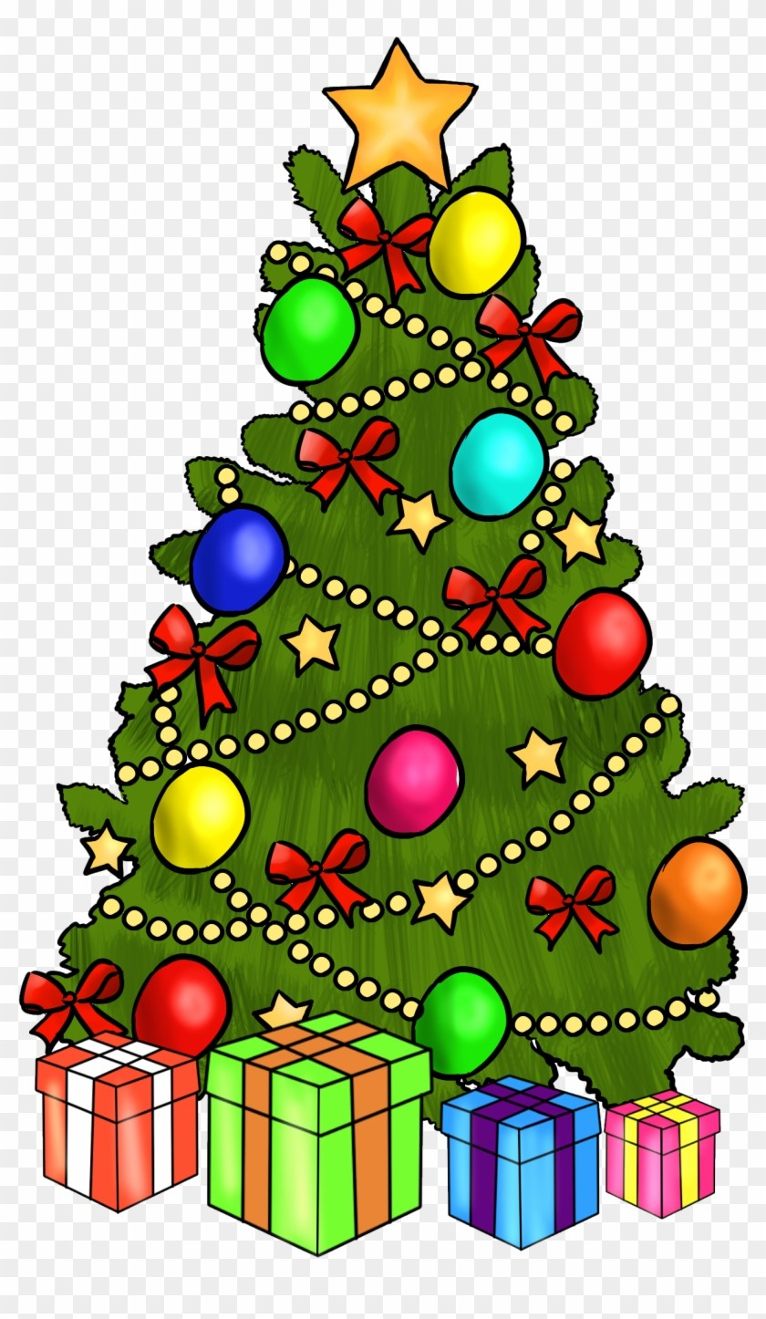 Christmas tree with presents clipart 4 » Clipart Portal image library