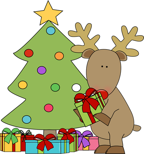 Free Christmas Tree With Presents Clipart, Download Free ... freeuse library