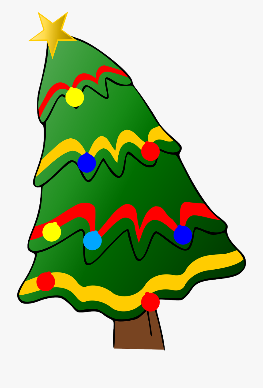 Christmas Tree With Presents Clipart Tree6png - Holiday Can ... free download
