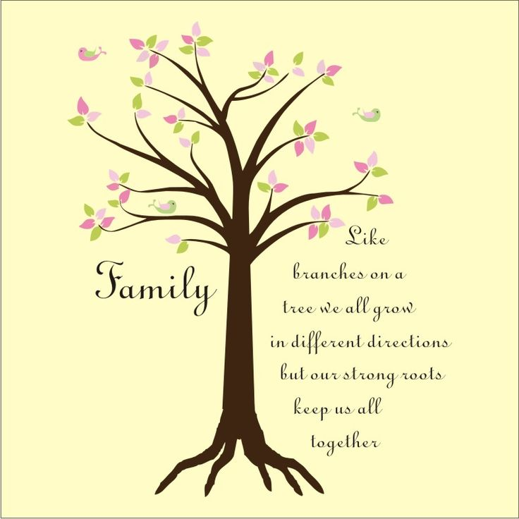 Tree with quote clipart