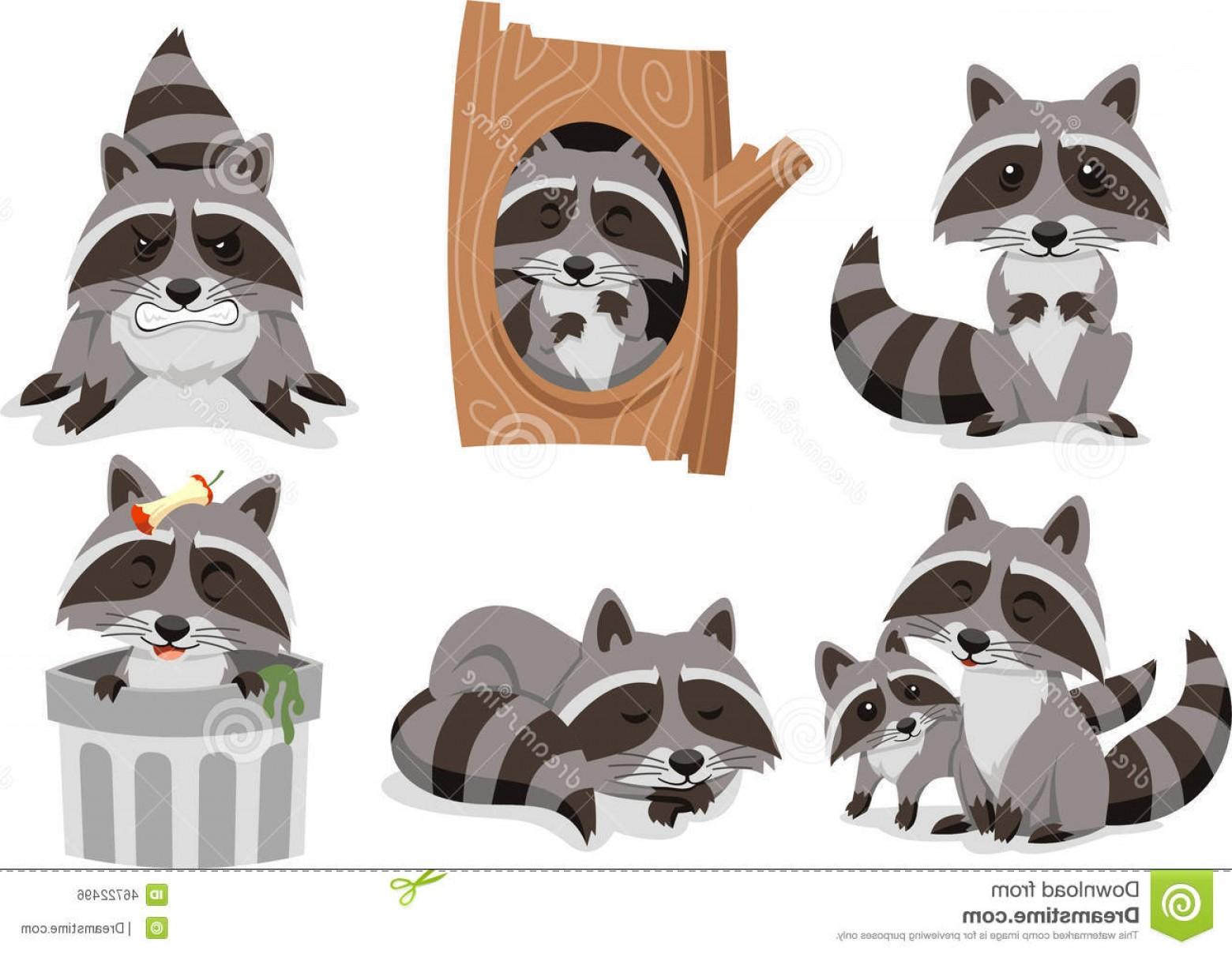 Raccoon Clip Art Vector | GeekChicPro svg library library